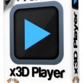 x3D Player 1.5.7.5 + Portable | Плееры