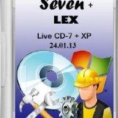 Live CD-7+ XP (Seven + LEX) (x86/RUS/24.01.13) | Операционные системы