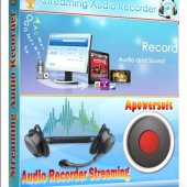 Apowersoft Streaming Audio Recorder 3.0 ML/ENG | Захват и запись