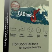 HotDoor CADtools 8.2.4 for Adobe Illustrator | Моделирование